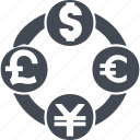 currency, currencyexchange, curreney exchange, exchange icon