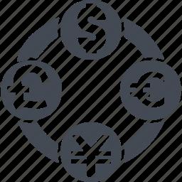 currency, currencyexchange, curreney exchange, exchange icon