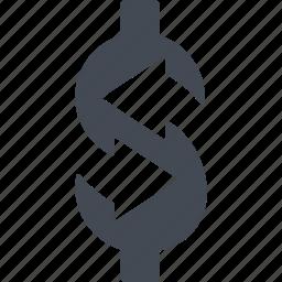 currency turnover, currencyexchange, curreney exchange, finance icon