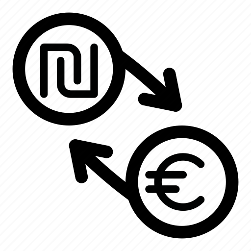 currency, eur, euro, exchange, money, nis, shekel icon