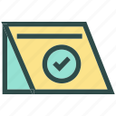 booking, check, list icon