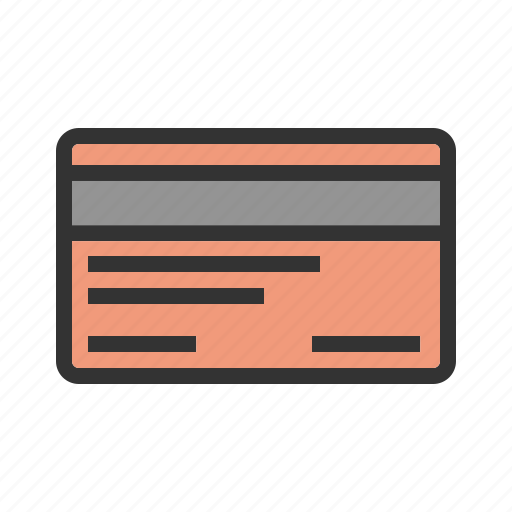 bank, business, card, credit, currency, money, payment icon