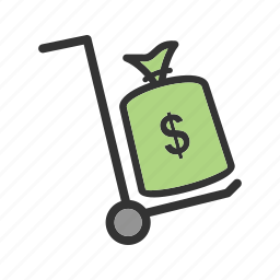bank, business, currency, finance, internet, money, transfer icon