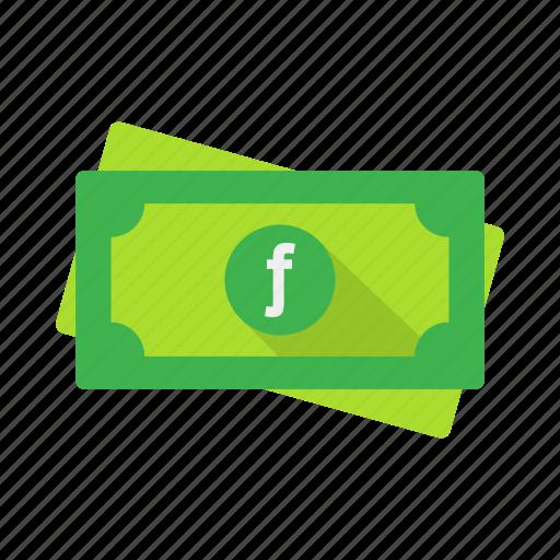 aruba, cash, coin, currency, guilder, money, price icon
