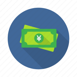 cash, coin, currency, money, price, yen icon