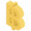 baht, baht sign, baht symbol, digital currency, virtual currency icon
