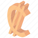 cola rica currency, colon, colon money, colon sign, colon symbol icon