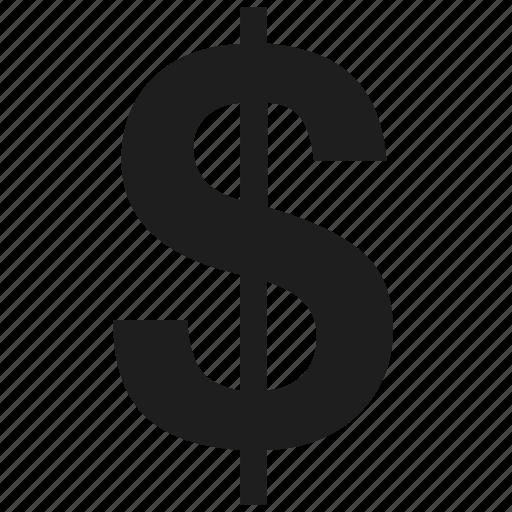Currency, currency symbol, dollar, money, united states iconMoney Logo Symbols
