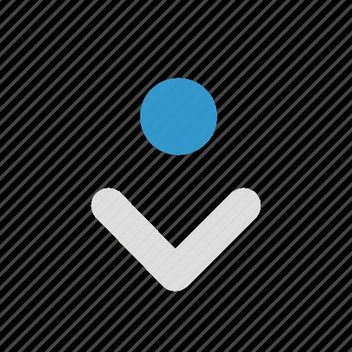 bottom, control, cursor, drag, drop, mouse, pointer icon