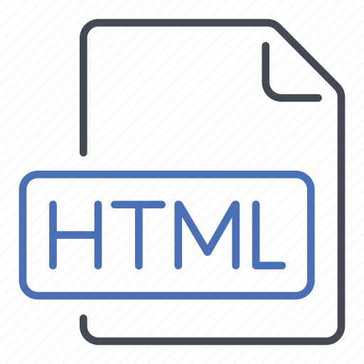 extension, file, format, html, hypertext markup language, internet, web icon