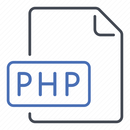 extension, file, format, hypertext preprocessor, php, website icon