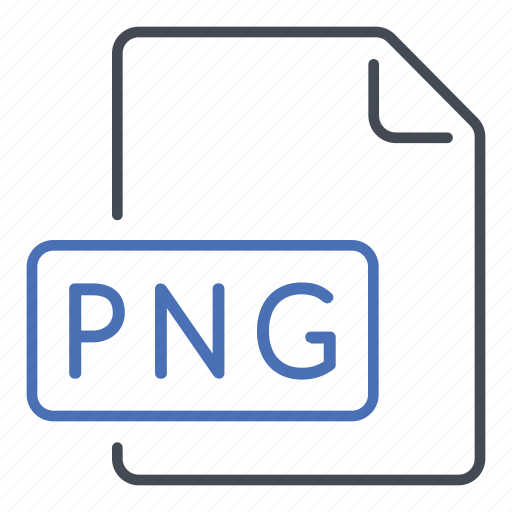 extension, file, format, image, portable network graphics icon
