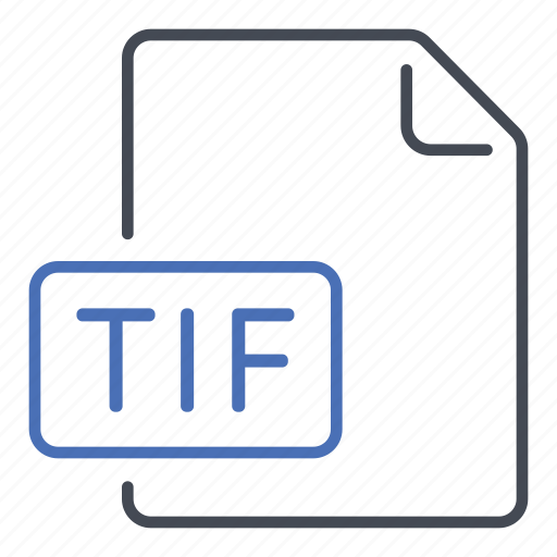extension, file, format, tag image file format, tif icon