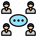 communication, community, connect, social, transmission icon