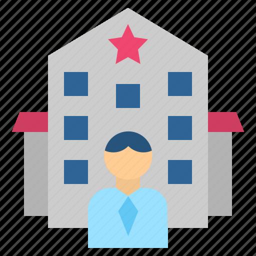 business, businessman, company, entrepreneur, firm icon