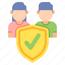 customer, protection, secured, verified