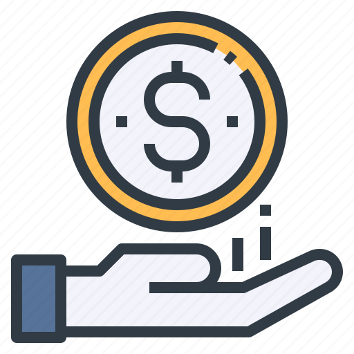 bonus, income, profit, roi, salary icon