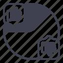 pie, chart, customer, feedback, graph, analytics, business