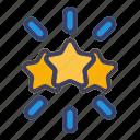 star, review, favorite, award