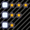 review, feedback, rating, favorite, star, medal