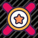 star, seller, medal, favorite, award, prize