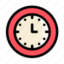 clock, communications, customer, information, service, time icon