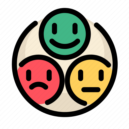 communications, customer, information, rate, satisfaction, service, smileys icon