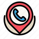 call, communications, customer, information, phone, placeholder, service icon