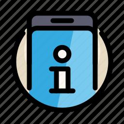 communications, customer, information, phone, service, smartphone icon