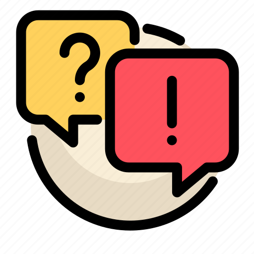 communications, customer, information, question, service icon
