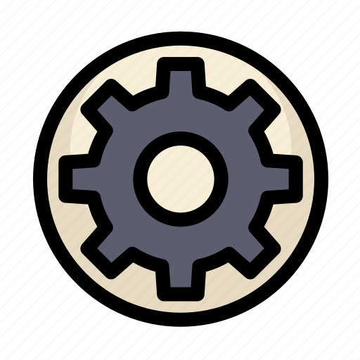 communications, customer, gear, information, service, settings icon