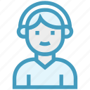 customer, customer service, customer support, hotline, representative, support, user icon