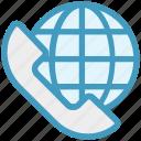 call, customer service, globe, receiver, support, telephone, world