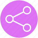 connection, customer service, network, service, social, structure icon