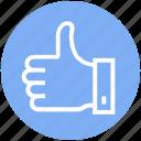 customer service, hand, like, okay, support, thumb, up icon