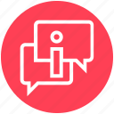 chat, customer service, help, messages, service, support, talking icon