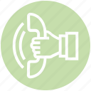 call, customer calling, customer service, helpline, receiver, service, telephone icon