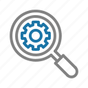 service, help, contact, customer, support, search icon