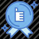 award, certificate, medal, quality, winner icon