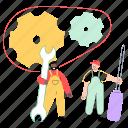 support, team, tools, fix