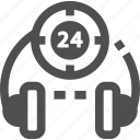 headphone, helpdesk, customer support, customer service icon