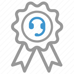 award, help, medal, premium, quality, service, support icon
