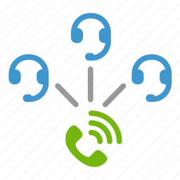call, center, communication, contact, operator, service, support icon