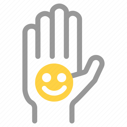 client, customer, feedback, good, hand up, satisfied, volunteer icon