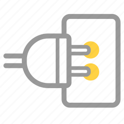 charge, electric, electricity, energy, integrate, plug, power icon