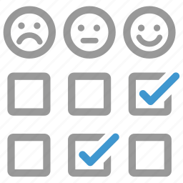 client, comment, customer, feedback, opinion, questionnaire, survey icon