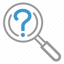 find, problem, question, search, troble, view, zoom icon