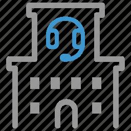 call center, center, centre, complaint, customer, service, support icon