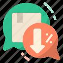 bargain, buy, discount, negotiate, negotiation, price, sell icon