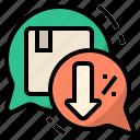 bargain, discount, negotiate, negotiation, price, sell, trade icon
